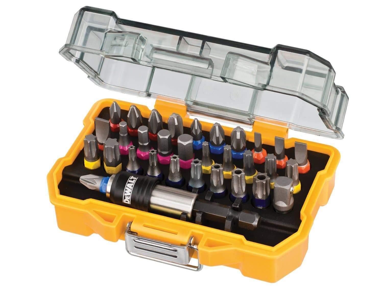 dewalt 32 piece xr professional magnetic screwdriver bit accessory set review. Black Bedroom Furniture Sets. Home Design Ideas