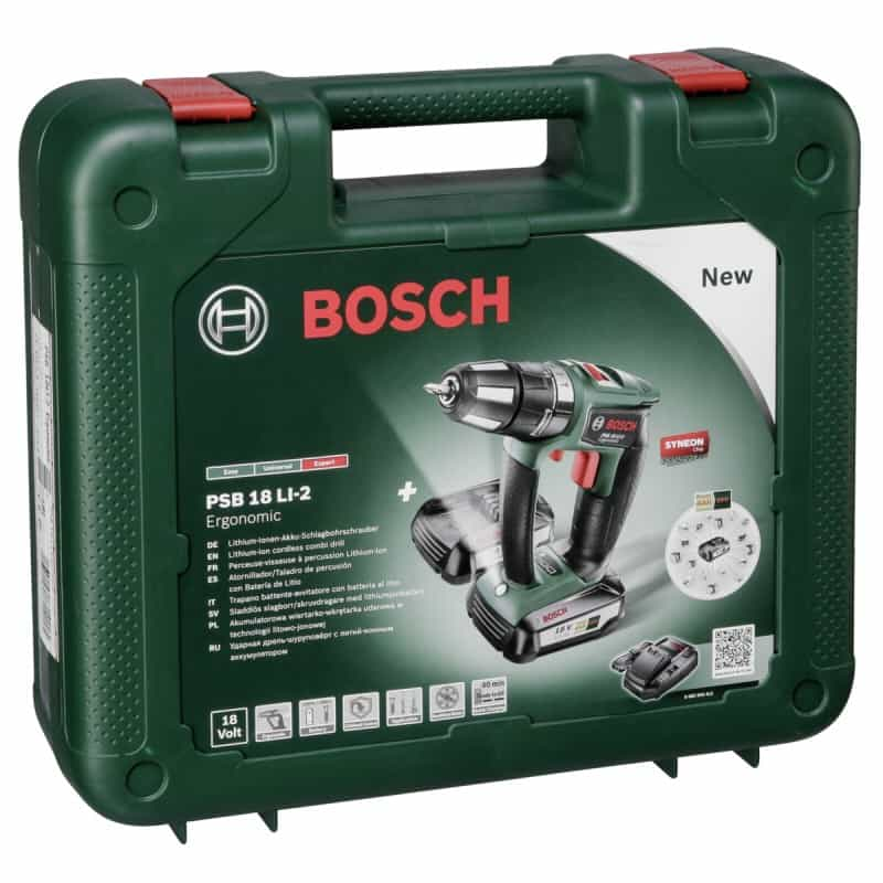 bosch psb 18 li 2 cordless combi drill review. Black Bedroom Furniture Sets. Home Design Ideas