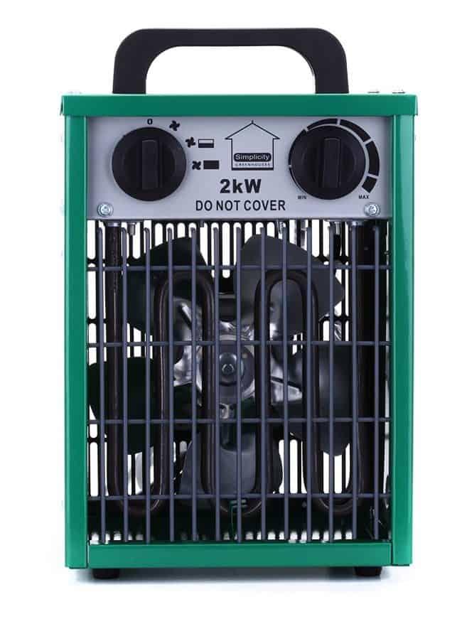 Simplicity Greenhouse Heater