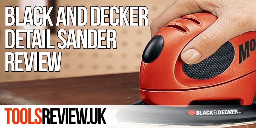Black and Decker KA161BC Mouse Detail Sander Review
