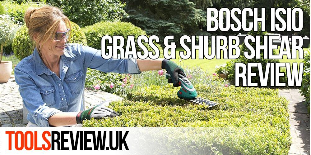Bosch Isio 3 Grass and Shurb Shear Review