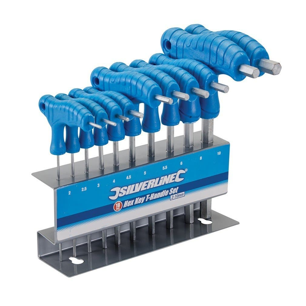 Silverline 323710 Hex Key T-Handle Set Review