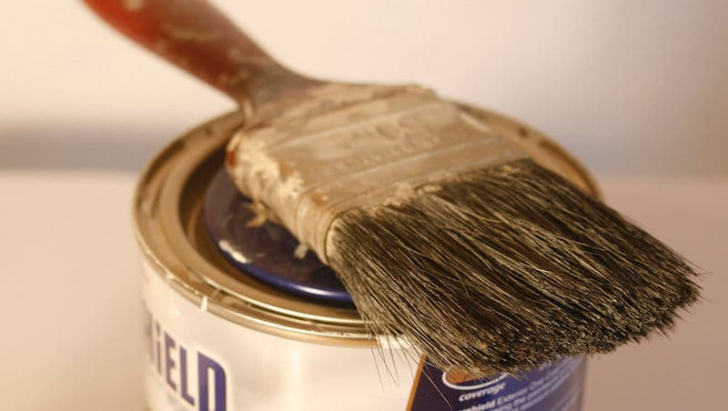 How to clean paint brushes – The Professional Way