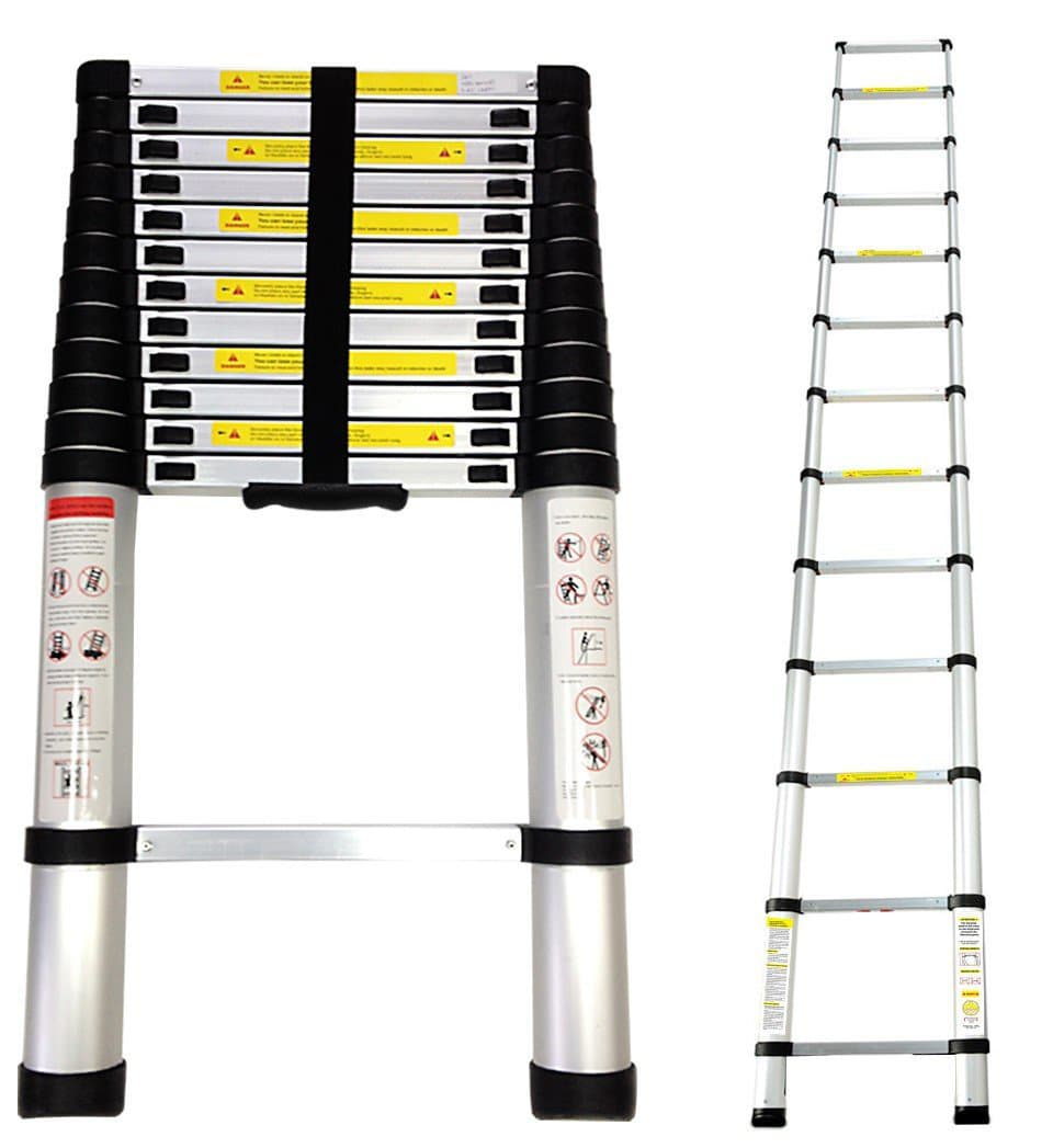 SOTECH 3.8m Telescopic Aluminium Foldable Extendable Ladder Review
