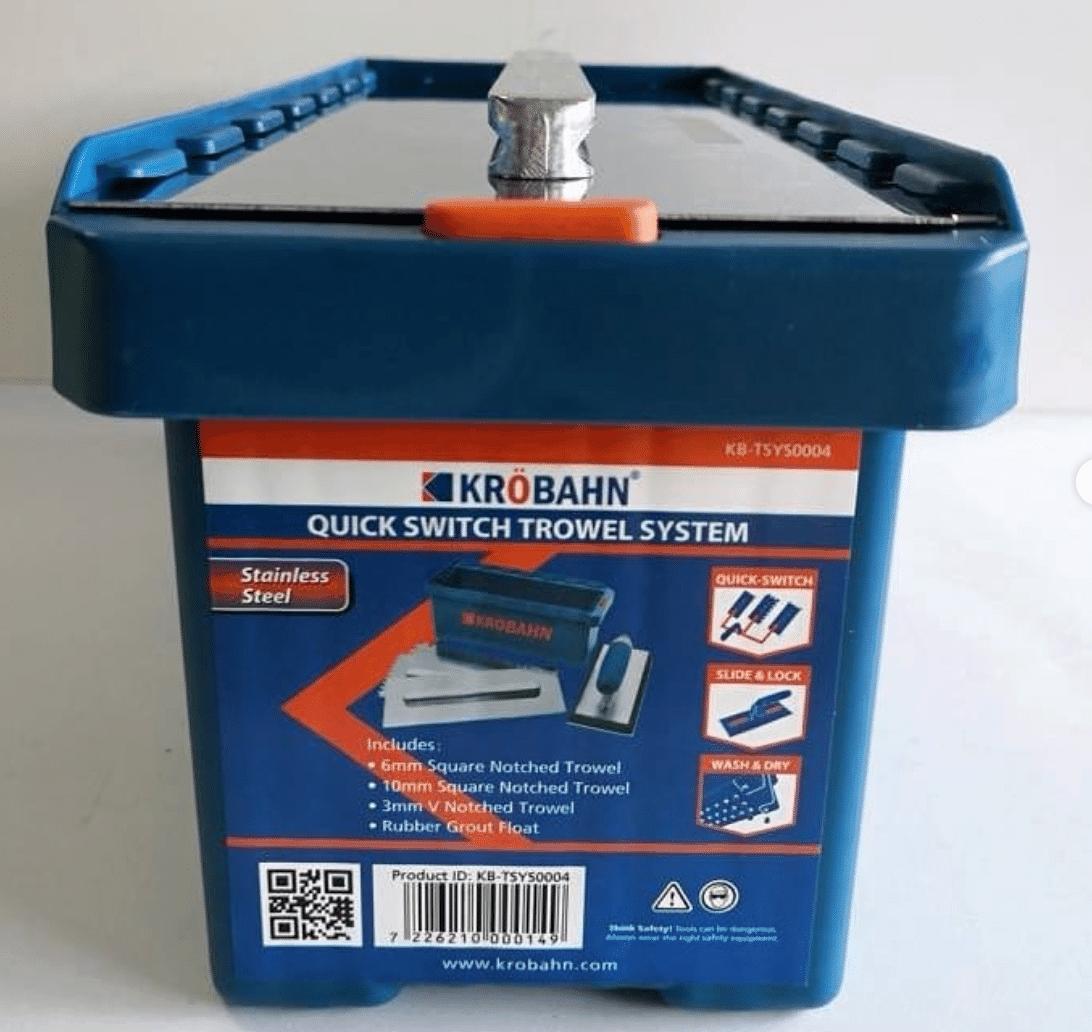 Krobahn Quick Switch Trowel Kit